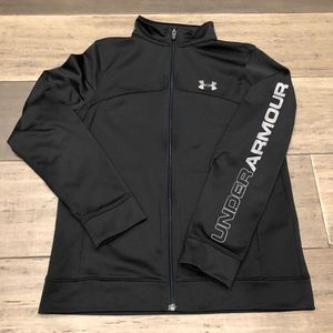 Under Armour Zip Jacket Boys Youth Large